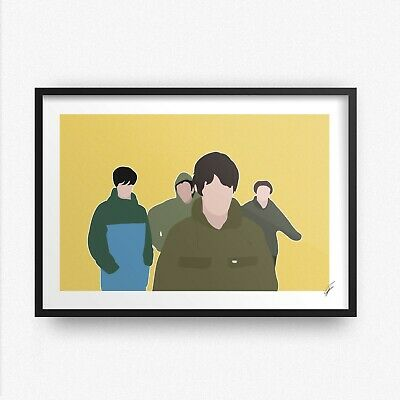 £13.99 • Buy The Stone Roses INSPIRED WALL ART Print / Poster A4 A3 Fools Gold Adored Drums