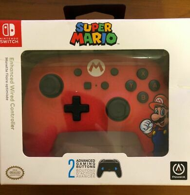 $14.50 • Buy NEW! Super Mario Edition Controller For Nintendo Switch - Red