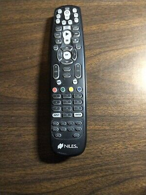 $14 • Buy GENUINE NILES R8L 8-Source Learning Remote Control  For ZR-6, Pre-owned