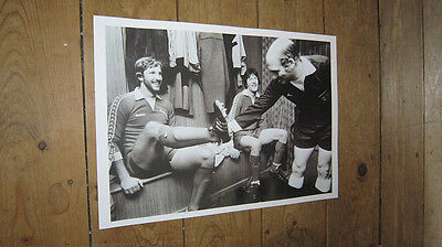 Ian Botham Playing For Scunthorpe Dressing Room POSTER • 5.99£