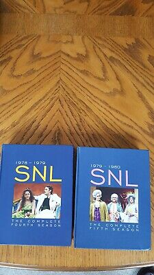 $9.99 • Buy Saturday Night Live The Complete Fourth And Fifth Seasons Dvd Lot