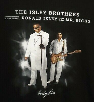 $19.99 • Buy The Isley Brothers New Old Stock Size Large Body Kiss T Shirt 2003 Mr. Biggs