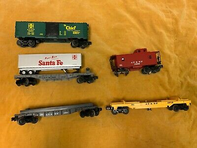 $58.96 • Buy Lionel Lot Of 5 Train Cars