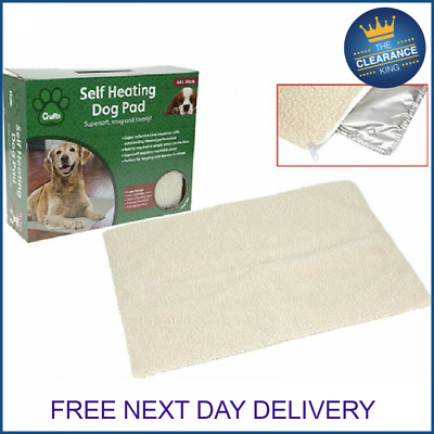 NEW Crufts Self Heating Pet Blanket Pad Ideal For Cat/Dog Bed Medium • 5.99£