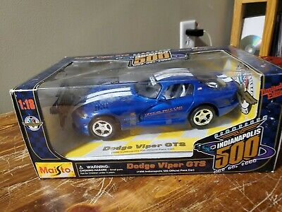 $20 • Buy Maisto 1:18 Viper Indy 500 Pace Car
