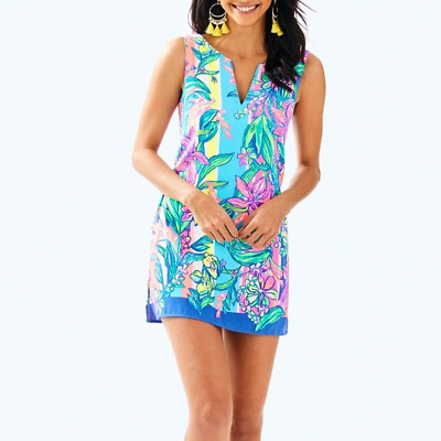 $70 • Buy LILLY PULITZER Donna Romper Easy Tiger Size 6