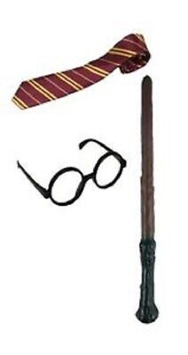 $ CDN12.87 • Buy Harry Potter Children's Scarf Wand World Book Day Dress Up Glasses Scarf & Tie