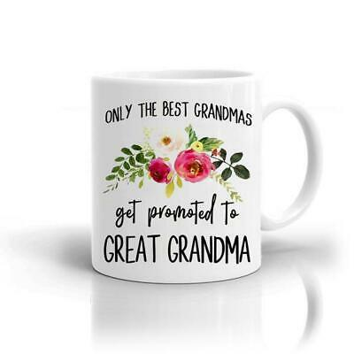 Gift Novelty Great Grandma Birthday Best Mug Christmas Gift For Grandma/Grandmom • 9.99£