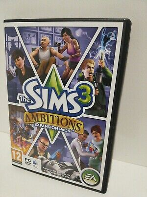 The Sims 3 Ambitions Expansion Pack PC / Windows Or MAC Complete • 4.95£