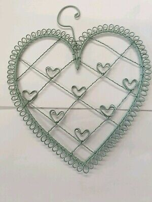 £4.95 • Buy Heart Picture Holder Metal