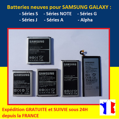 AU28.43 • Buy Battery For Samsung Galaxy S2 S3 S4 S5 S6 S7 S8 S9 S10 + Edge+ Note Mini J3