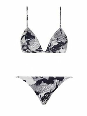 $80.99 • Buy Zimmermann Lotte Quilted Black And White Tri Bikini Size 3 US 10/12 $240