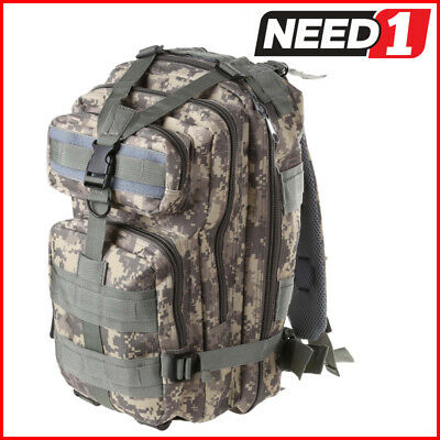 AU35 • Buy Heavy Duty Camo Outdoor Back Pack Hiking Military Tactical Rucksack