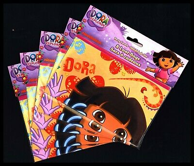 Dora The Explorer  40 Loot Treat Party Bags! Nickelodeon! 5 Packages Of 8 • 4.27£