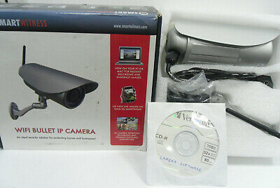 £49.99 • Buy Smart Witness Ip Bullet Camera With Remote Viewing