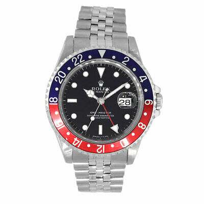 $ CDN15196.68 • Buy Rolex 16700 Master GMT  Pepsi  Stainless Steel Watch