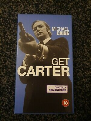 Get Carter (1971): Digitally Remastered - Michael Caine VHS/ RETRO • 4.99£