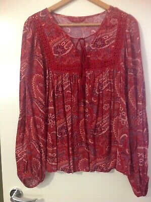 AU30 • Buy Tigerlily Boho Blouse Size 10
