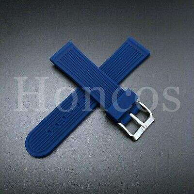 $ CDN17.36 • Buy 22mm Rubber Strap Band For Seiko 200m Skx007k 7s26, Skx009j Automatic Watch Blue