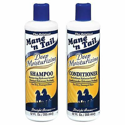 £11.39 • Buy Mane N Tail Deep Moisturising Shampoo And Conditioner Duo 12oz + Fast Delivery