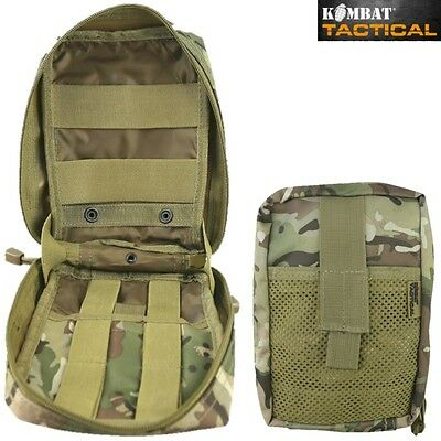 £13.99 • Buy Medic Molle Webbing Pouch Zipped First Aid Kit Holder Btp Mtp Camo British Army