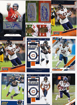 $ CDN2.62 • Buy A Lot Of (81) Chicago Bears Auto Autograph Rookie Base & Insert Cards Mack Cohen