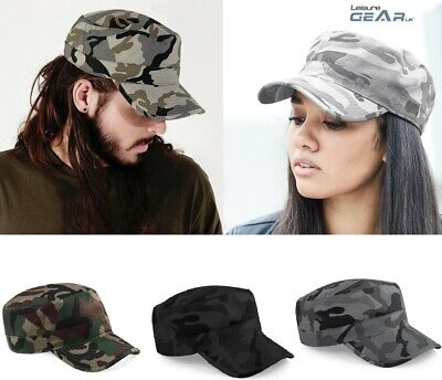 £6.99 • Buy Mens Camouflage Baseball Cap Womens Army Camo Military Cadet Combat Hunting Hat