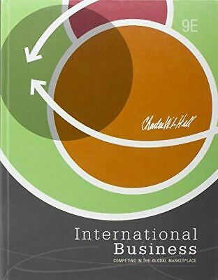 £11.19 • Buy International Business [Hardcover] Hill, Charles W. L.