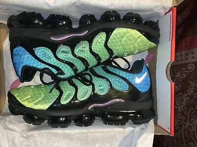 $81 • Buy Men's Nike Air Vapor Max Plus  Aurora Green  Athletic Casual 924453 302 Size 13
