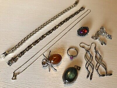 $ CDN32.86 • Buy Nice 925 Sterling Silver Jewelry Lot