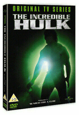 The Incredible Hulk  Volume 1 (DVD) Search For A Cure (TV) Bill Bixby Ferrigno • 1.99£