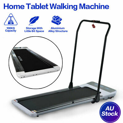 AU299 • Buy Folding Treadmill Electric Tablet Walking Machine Home Office Exercise Fitness