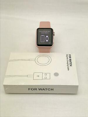 $ CDN156.11 • Buy Apple Watch Series 2 A1757 38mm 8GB Rose Gold! Pink Band! Built-in GPS!