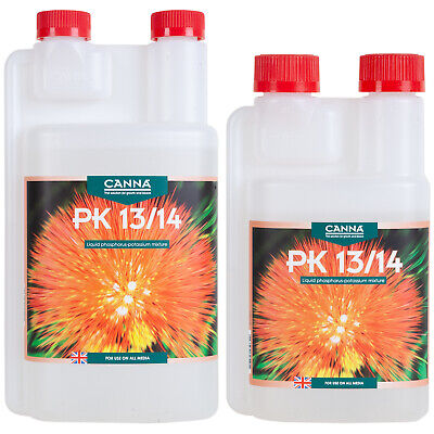 CANNA PK 13/14 250ml & 1L Hydroponic Flowering Enhancer Weight Gain Booster • 7.95£