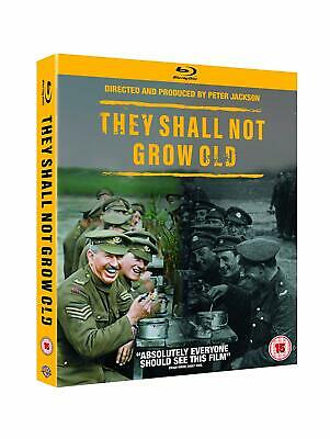$19.88 • Buy They Shall Not Grow Old (Blu-ray, 2018, Region Free) *NEW/SEALED*