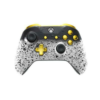 $95.99 • Buy X Rocker Xbox One Custom Controller - 3D White Shadow & Gold Edition | #3000401
