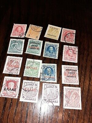 Crete 16 Old Stamps • 2.99£