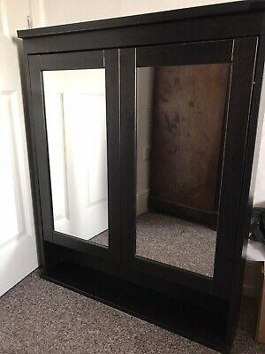 Ikea Bathroom Medicine Wall Cabinet Cupboard Mirror • 20£