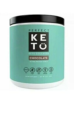 $27 • Buy Perfect Keto Chocolate Collagen Protein