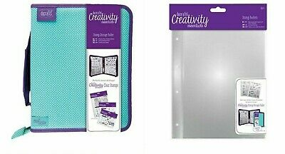 DOCRAFTS CREATIVITY ESSENTIALS STAMP STORAGE FOLDER,  A5/A6 INSERTS, Stamp Block • 4.99£