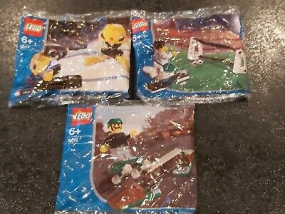 New LEGO Sports Packs 5012 Football 5014 Ice Hockey 5015 Skateboarder NEW SEALED • 9.99£