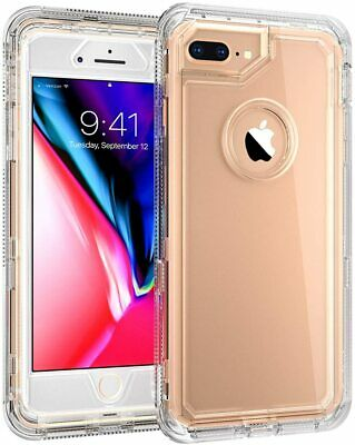 AU12.88 • Buy For IPhone 8 Plus / 7 Plus Heavy Duty Protective Clear Case Fit Otterbox Clip