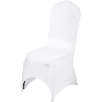 AU167.19 • Buy 100PCS Spandex Lycra Seat Chair Covers Wedding Party Event Banquet Decor Dining