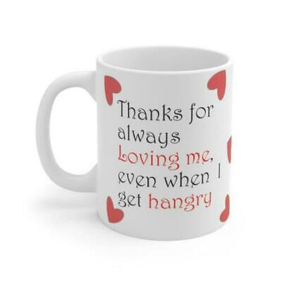 AU18.99 • Buy Valentines Day Mug, Valentines Gift Idea For Him And For Her. Available In White
