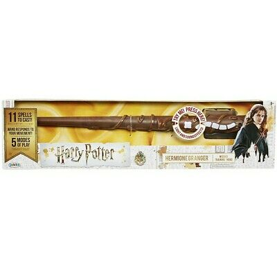 $15.95 • Buy HARRY POTTER Hermione Granger Wizard Training Wand W/ Lights And Sound Effects