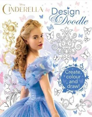 Disney Cinderella Design & Doodle, Parragon Books Ltd, Very Good Book • 7.79£