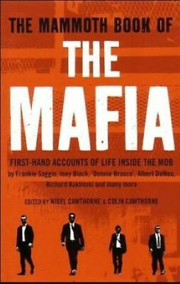 The Mammoth Book Of The Mafia, Cawthorne, Nigel, New Book • 6.13£