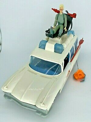 Vintage Ghostbusters  Ecto 1 Car Complete Working Seat, Winch, Rare, Ghost • 75£