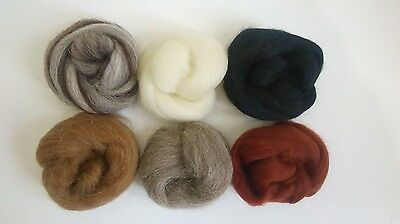 £3.69 • Buy Needle Felting Natural Collection Ideal For Animal Projects. Felting Wool 40g