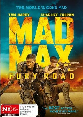 AU12.40 • Buy Mad Max - Fury Road DVD TOP 250 MOVIES BEST ACTRESS Charlize Theron BRAND NEW R4